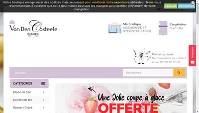 Site internet de Vandencasteele