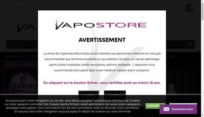 Site internet de Inhalation Vape-Shop
