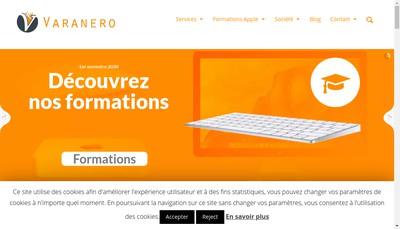 Site internet de Varanero
