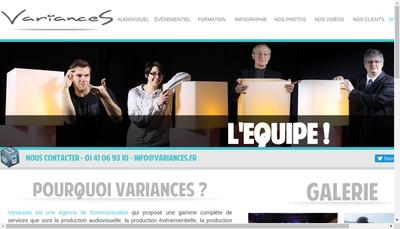 Site internet de Variances