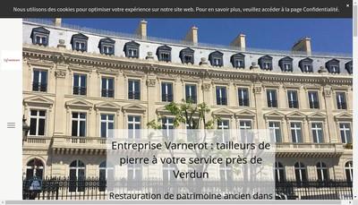 Site internet de Entreprise Varnerot