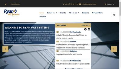 Site internet de Vat Systems