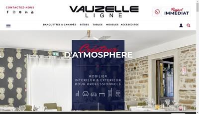 Site internet de Ligne Vauzelle