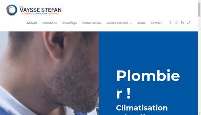 Site internet de EURL Vaysse Stefan