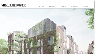 Site internet de Vd Architectures