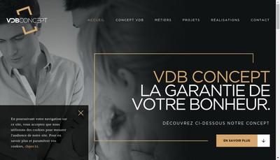 Site internet de Vdb Concept