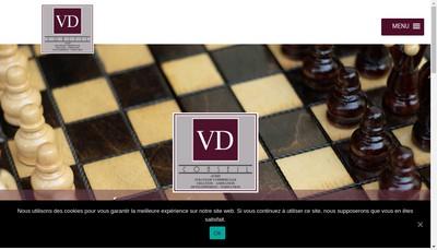 Site internet de Vd Conseil