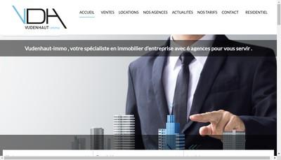Site internet de Vudenhaut-Immo