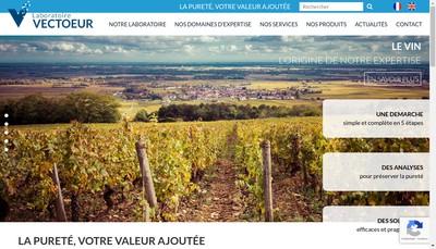 Site internet de Vect'Oeur