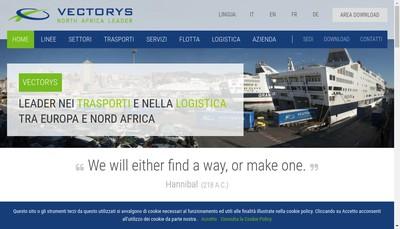 Site internet de Vectorys