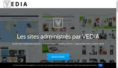 Site internet de Vedia