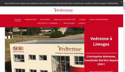 Site internet de Vedrenne