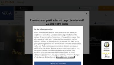 Site internet de Vega