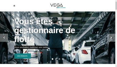 Site internet de Vega Systems