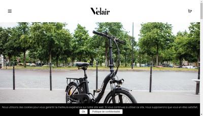 Site internet de Velair