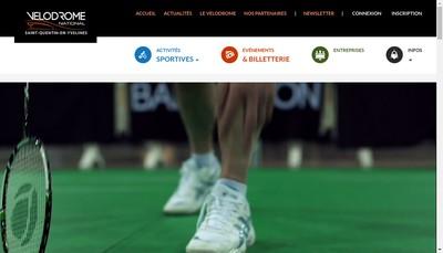 Site internet de Ls le Velodrome Sqy