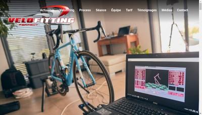 Site internet de Velofitting