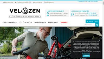 Site internet de Bikezen
