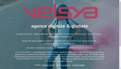 Site internet de Velsya