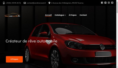 Site internet de Vendmonauto