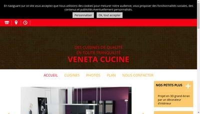 Site internet de Gatto Cucine
