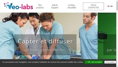 Site internet de Veo-Labs