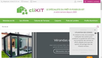 Site internet de Clikit