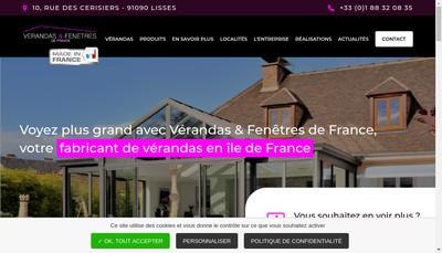Site internet de France Veranda Expansion