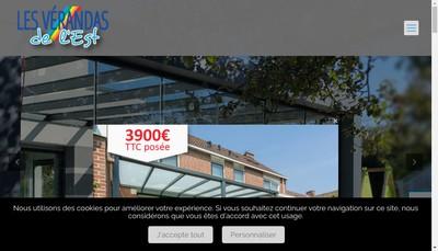 Site internet de Les Verandas de l'Est
