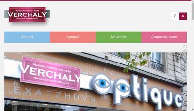 Site internet de Verchaly Optique