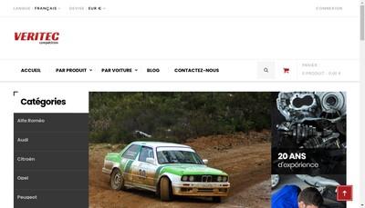 Site internet de Veritec