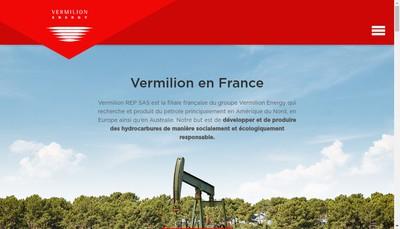 Site internet de Vermilion Moraine