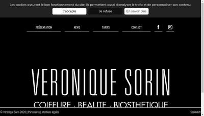 Site internet de Veronique Sorin