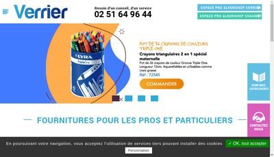 Site internet de Verrier