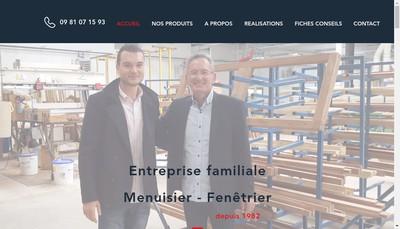 Site internet de Versailles Aluminium