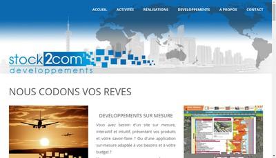 Site internet de Verseau Tourisme et Communication