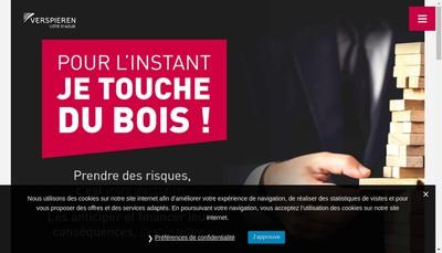 Site internet de Les Assureurs Conseils de l'Entreprise