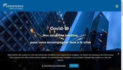 Site internet de Deledalle ACF