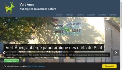 Site internet de Vert-Anes