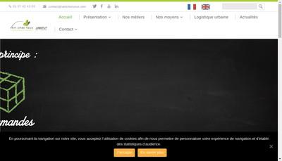 Site internet de Vert Chez Vous Aix en Provence