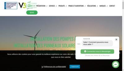 Site internet de EURL Verteck 3E