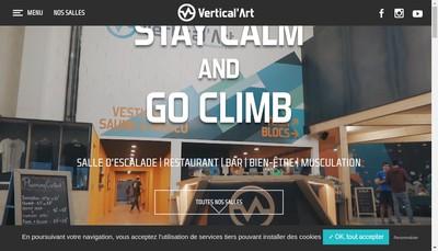 Site internet de Vertical' Art