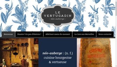 Site internet de Le Vertugadin