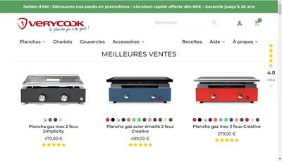 Site internet de Verycook