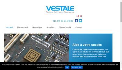 Site internet de Vestale Production