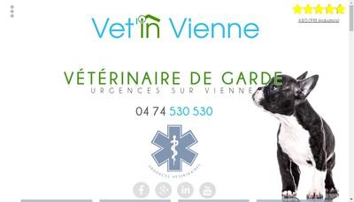 Site internet de Vet'In Vienne