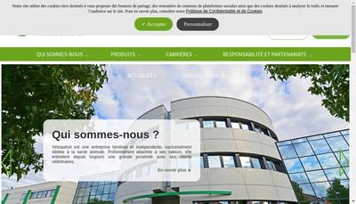 Site internet de Vetoquinol SA