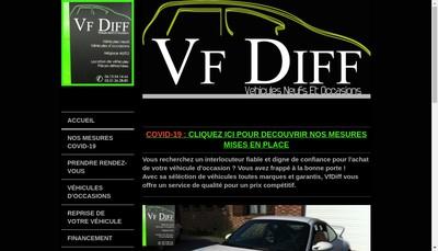 Site internet de Vfdiff
