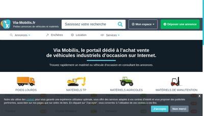 Site internet de Via-Mobilis