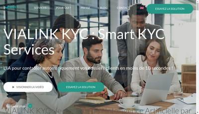 Site internet de Vialink